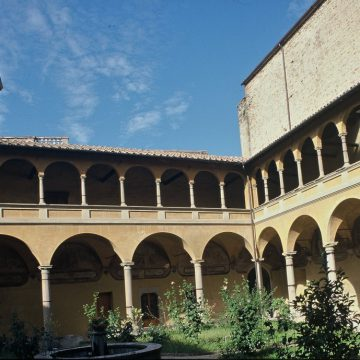 Città di Castello, Cloister of San Domenico