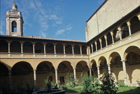 Città di Castello, Cloister of San Domenico